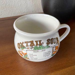 Vintage Soup Mug